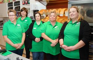 Team des Dorfladens, Klick für Info's